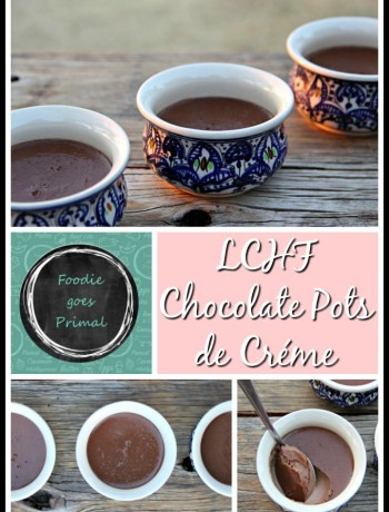 low carb chocolate pots
