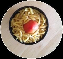 Cherry Tomato Basil Penne Pasta
