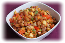Peanut salad-