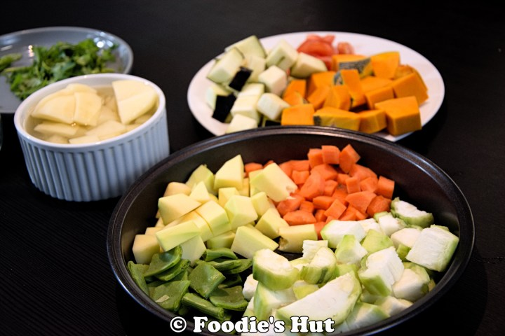 vegetables - foodie's hut