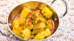 Aloo Paneer Dalna /Rasa -recipe by Foodie's Hut