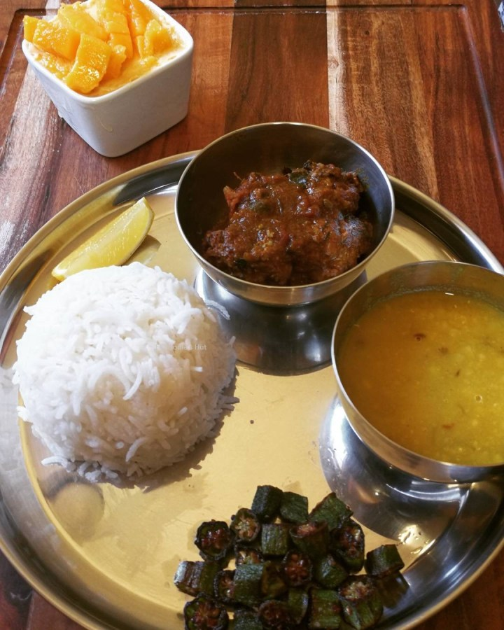Foodie's Hut Lunch Thali