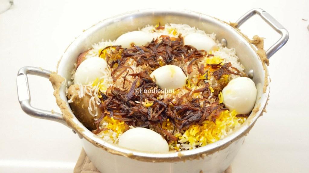 Chicken Biryani Handi- recipe by Foodie's Hut