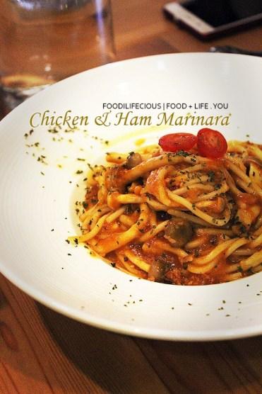 Chicken & Ham Marinara | RM13.90