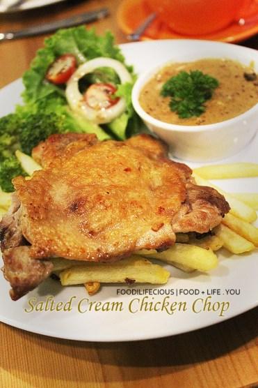 Salted Cream Chicken Chop | RM17.90