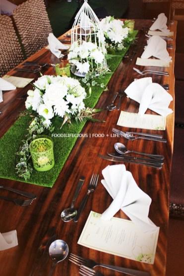 The Garden Feel Table Setting
