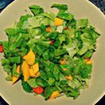 Insalata di mango e carote