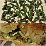 Sfoglia di asparagi, crescenza e taggiasche