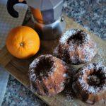 Muffin di albumi, arancia e cioccolato