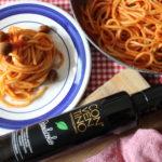 """Spaghettone al pomodoro e """"Basilicolio"""""""