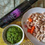 La salsa verde con Emozioneolio