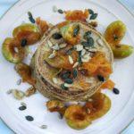 Pancake proteici con farina di avena
