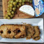Plumcake salato uva e Bavaria blu