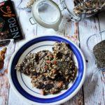 Sfoglie di semi,mandorle e cioccolato