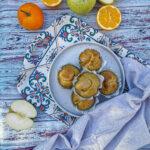 Muffin mele, arancia e cannella