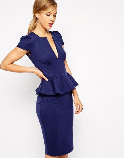 USA blue dress