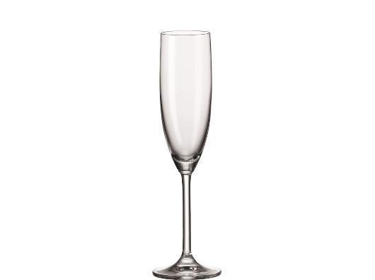 Mooie champagneglazen kerstcadeau onder tien Euro