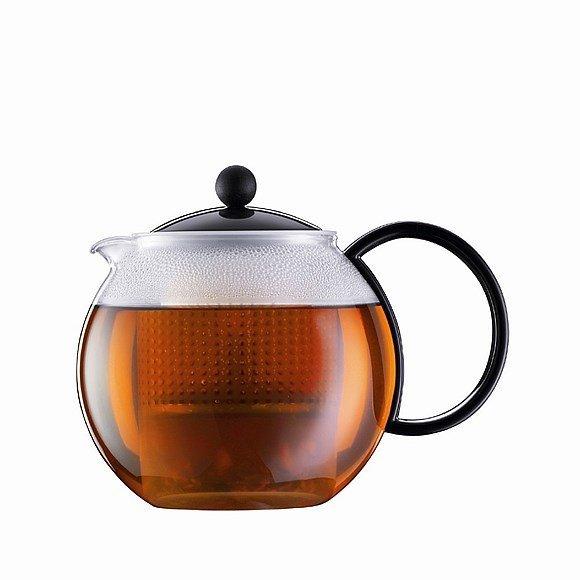 Perfecte thee zetten theekan met reservoir