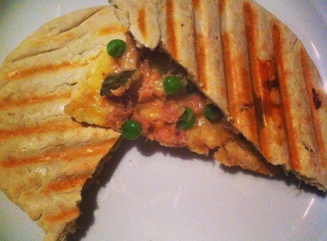 Pita Tuna Melt Recept