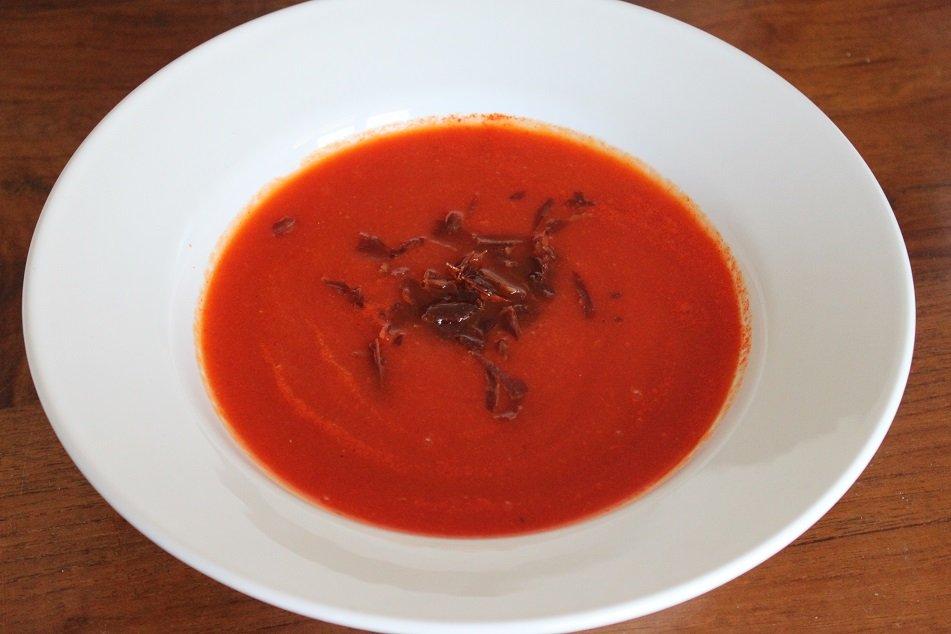 Pittige wortel paprika soep recept foodblog foodinista