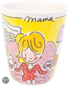 Moederdag cadeautjes mama beker Blond Amsterdam