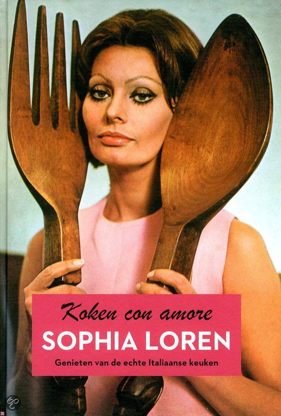 Koken con Amore Sophia Loren kookboek stylicoon kookboektip foodblog Foodinista