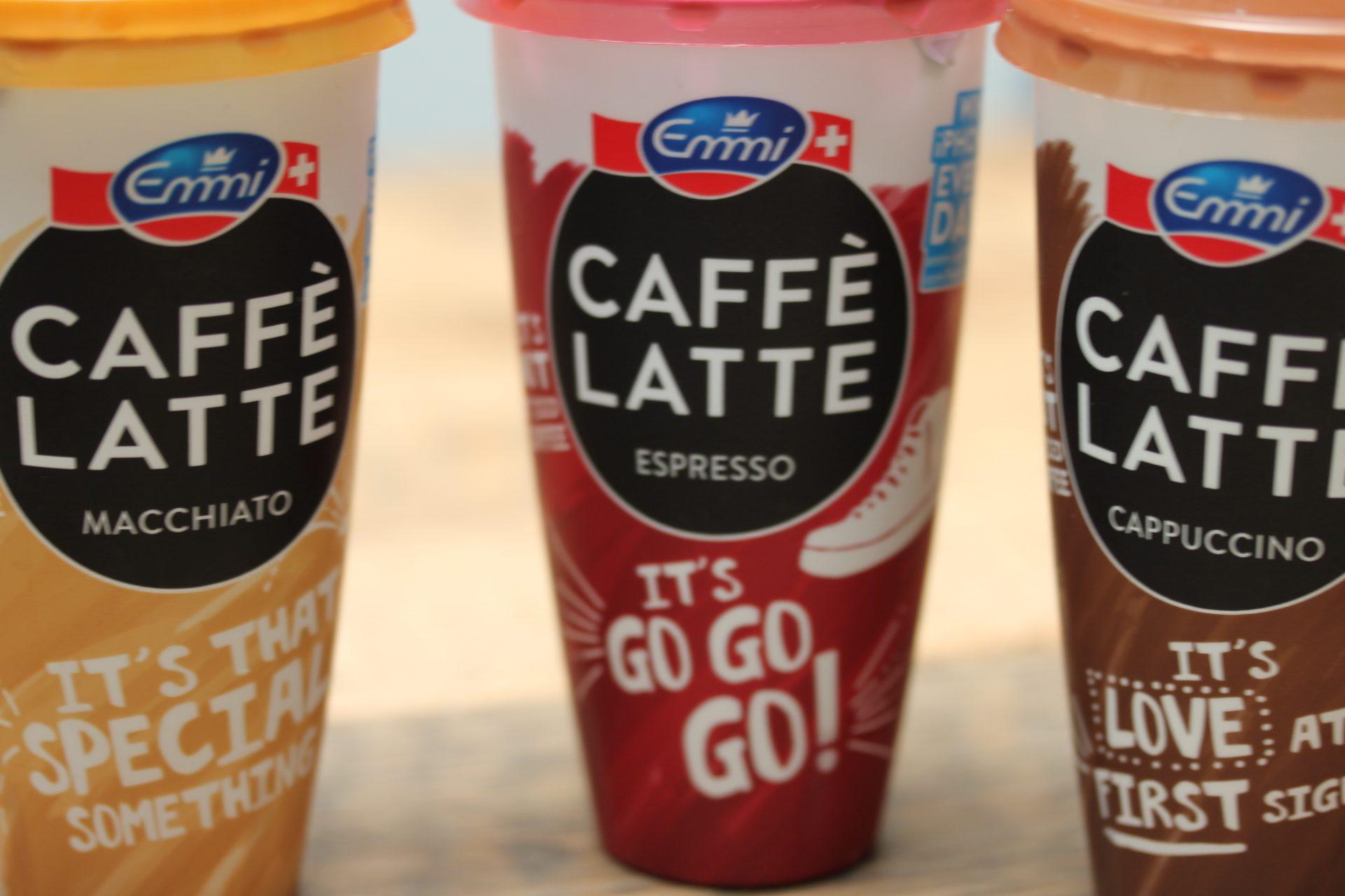 ijskoffie Caffe latte emmi getest foodblog Foodinista
