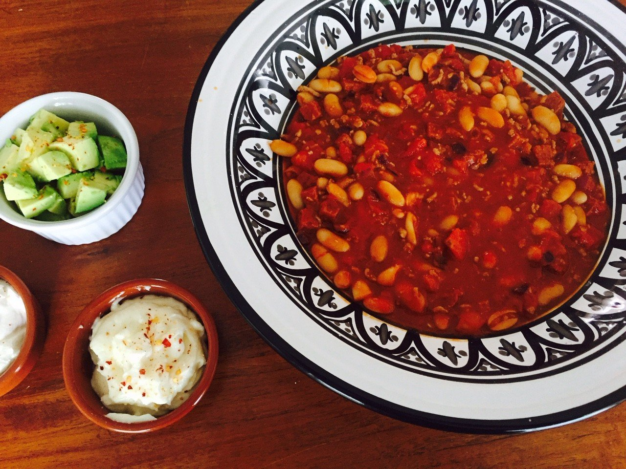 Mexicaanse witte bonenschotel foodblog Foodinista recept