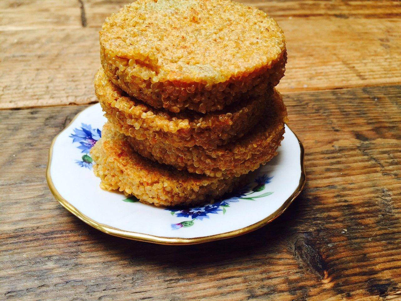 Recept voor Quinoakoekjes foodblog Foodinista recepten