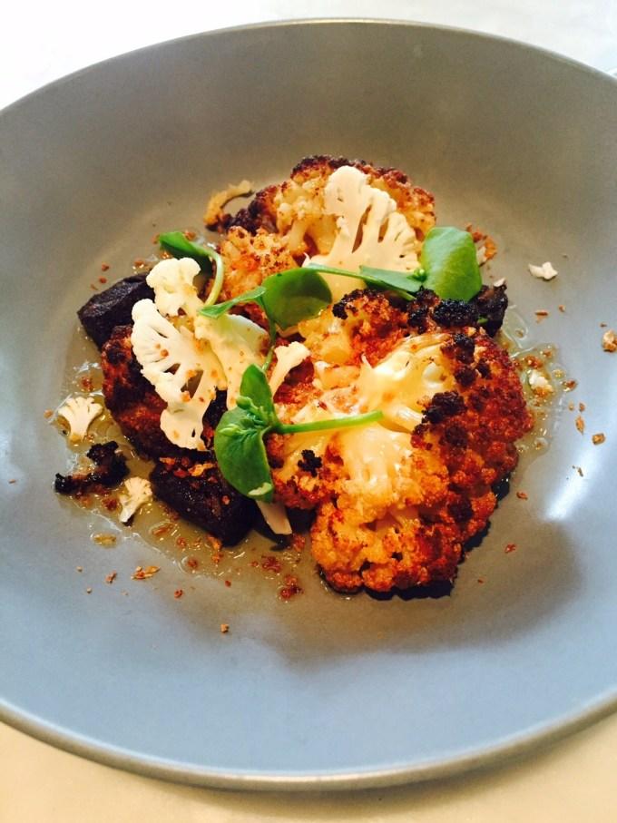 Lunchen bij Ron Gastrobar Amsterdam Foodblog Foodinista Signature bloemkool