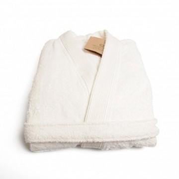 Witte katoenen badjas happy Musthaves Februari