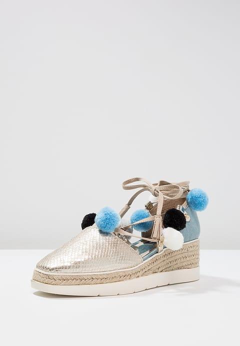 Plateau sandaal met jeans en pompons favorieten blogger Foodinista