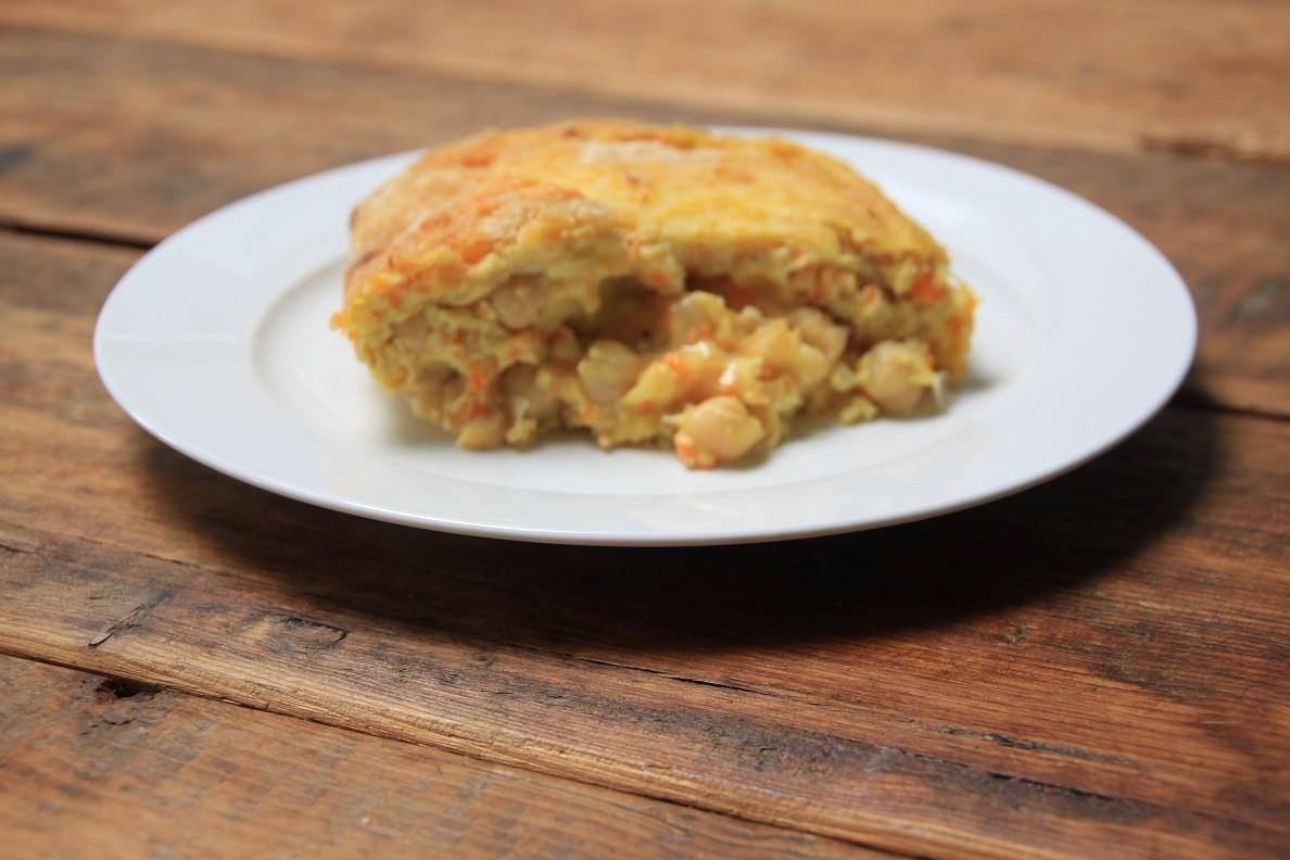 Omelet met kikkererwten recept van Foodblog Foodinista