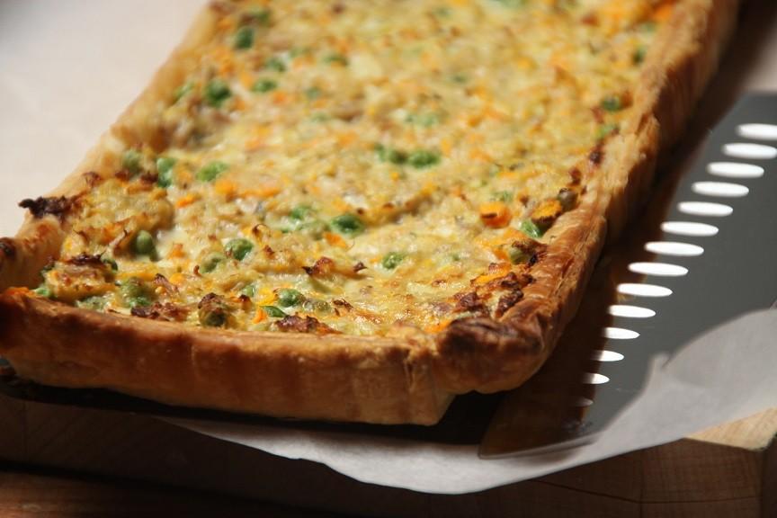 Hartige taart met tonijn recept van foodblog Foodinista