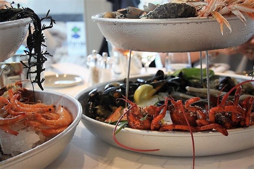 Fruit de Mer feest bij The Park Inspired by Erik van Loo Restaurant tip Foodblog Foodinista in Rotterdam