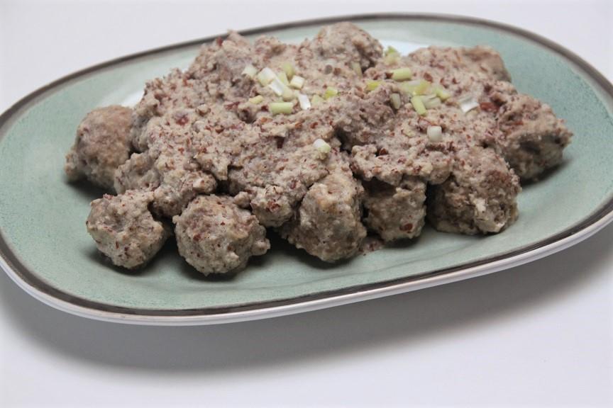 Gehaktballetjes in Amandelsaus recept van foodblog Foodinista