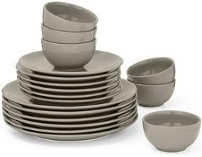 Herfsttrends en musthaves voor in de keuken van Foodinista Grijs basis servies