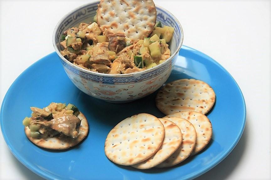 Aziatische Makreelsalade recept van Foodblog Foodinista