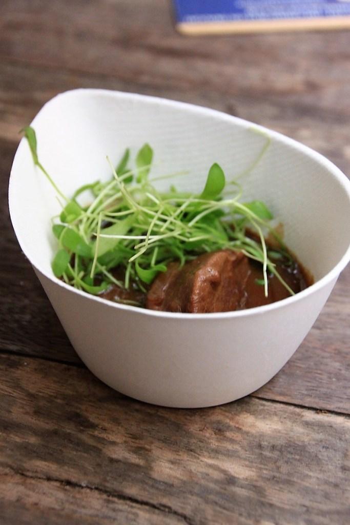 Varkenswangetjes in Liefmans Oud Bruin bij De groote witte Arend Foodblog Foodinista in Antwerpen
