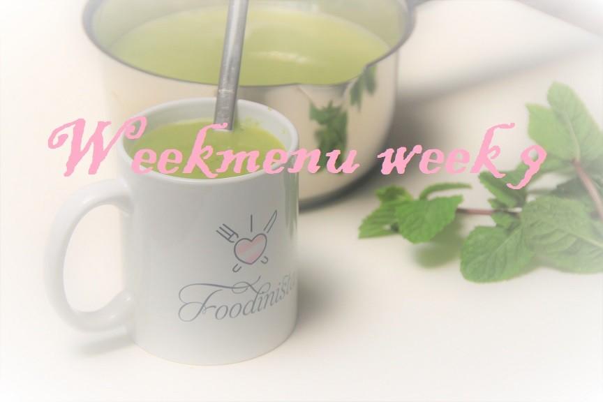 Gevarieerd en makkelijk weekmenu week 9 recept van Foodblog Foodinista