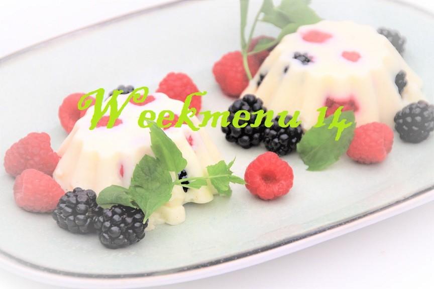 Gevarieerd en makkelijk weekmenu met lentethema recepten Foodblog Foodinista