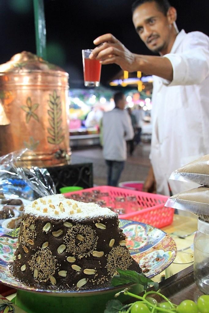 Kruidenthee op Djem El Fna in Marrakech Foodblog Foodinista