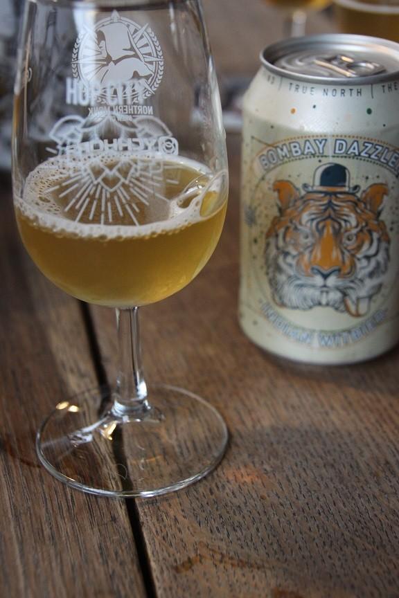 Bijzonder bier, zoals de Mumbai perfect bij pittige gerechten Northern Monk