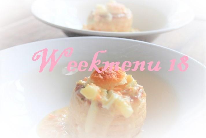Gevarieerd en makkelijk weekmenu week 18 foodblog Foodinista