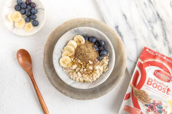 Linwoods Brekfast Boost voor je ontbijt bowl recepten Foodblog Foodinista