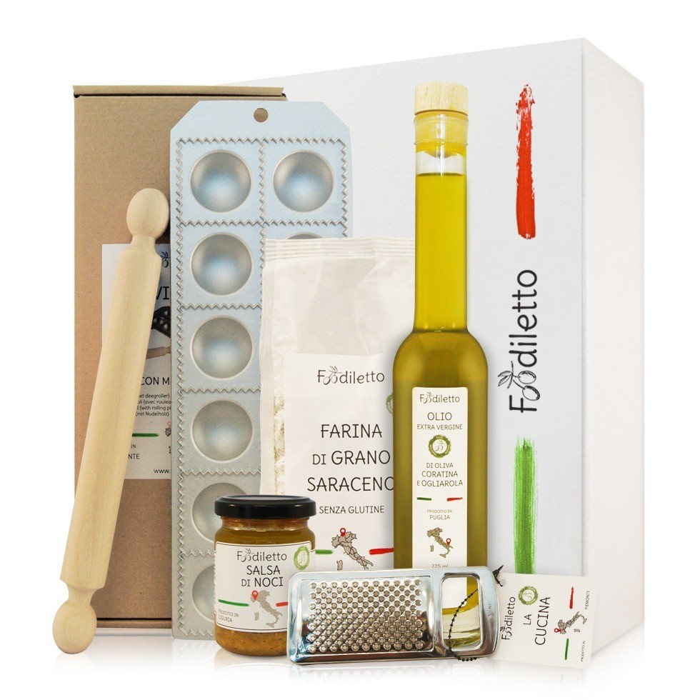 Ravioli cadeau pakket voor de thuischef Foodblog Foodinista cadeau tips
