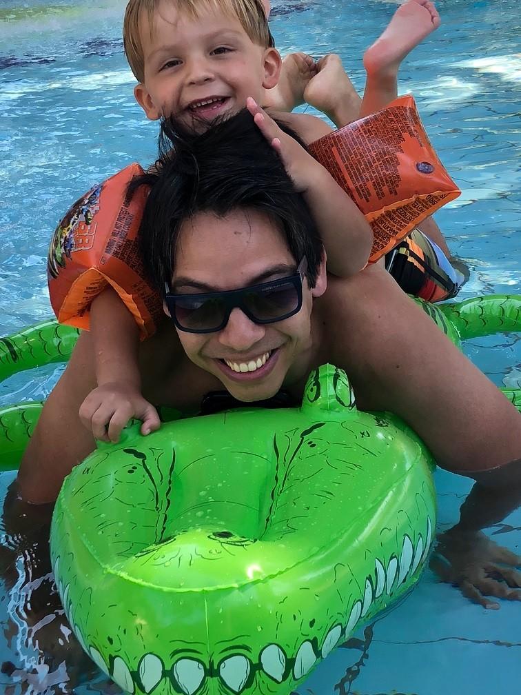 Zwembaden TUI Magic Life Waterworld in Belek Eric en Florian gezinsvakantie tips Blog Foodinista in Turkije