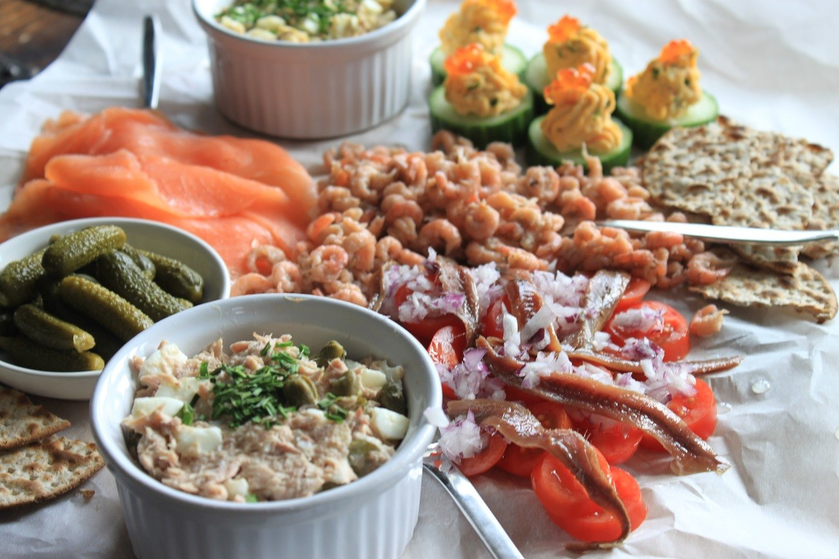 Vis Borrelplank recept van Foodblog Foodinista
