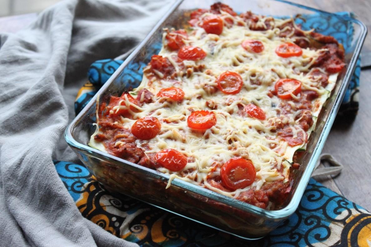 Courgettelasagne zonder pasta recept van Foodblog Foodinista
