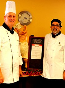 Chef Josh and me2
